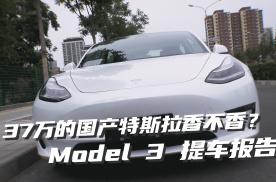37万的国产特斯拉Model 3提车报告!到底香不香