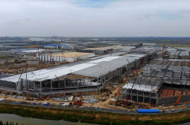 特斯拉上海工厂二期封顶 Model Y或提前量产