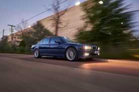 90年代宝马颜值巅峰 1998年E38 Alpina B12 5.7