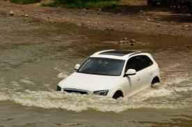 汽车的涉水深度在哪里,轿车和越野车的涉水深度有些许差异