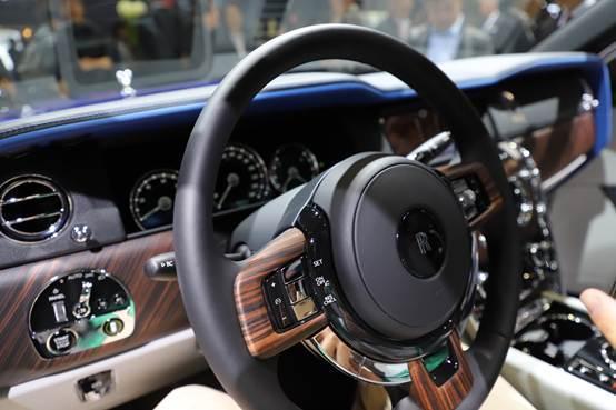 """上海车展实拍:劳斯莱斯库里南""""定制版"""""""