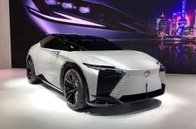 纯电轿跑SUV2021上海车展雷克萨斯LF-Z概念车实拍