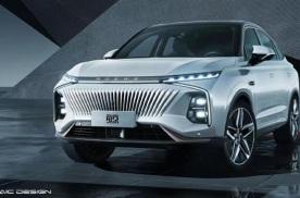 设计果然有一套,荣威全新SUV上海车展亮相,造型更前卫