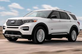 福特探险者King Ranch官图发布 搭载3.0升V6发动
