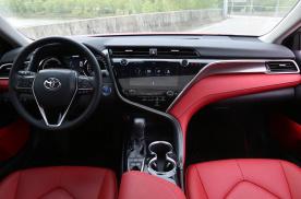 红色座椅 标配ACC 凯美瑞2.5L混动版内饰解读