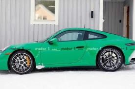 动力性能或将提升,全新保时捷911 GTS无伪谍照曝光