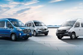 引领轻客行业 上汽大通MAXUS四款新车上市