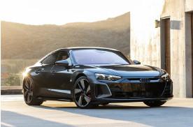 全新奥迪RS e-tron GT实拍曝光 预计最快年内开售