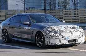 设计更加凶狠 新款宝马8系Gran Coupe测试谍照曝光