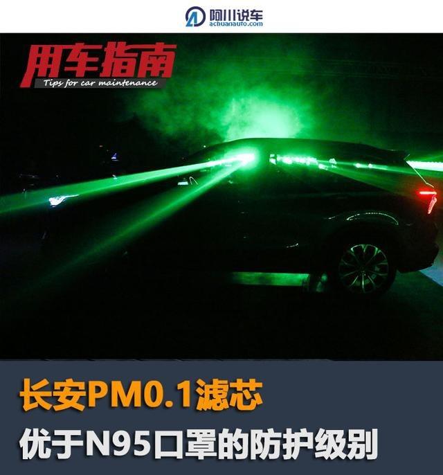 为何说pm0.1滤芯可媲美N95口罩,长安汽车用一场实验解密