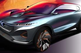 岚图量产概念车设计图发布,将于北京车展亮相