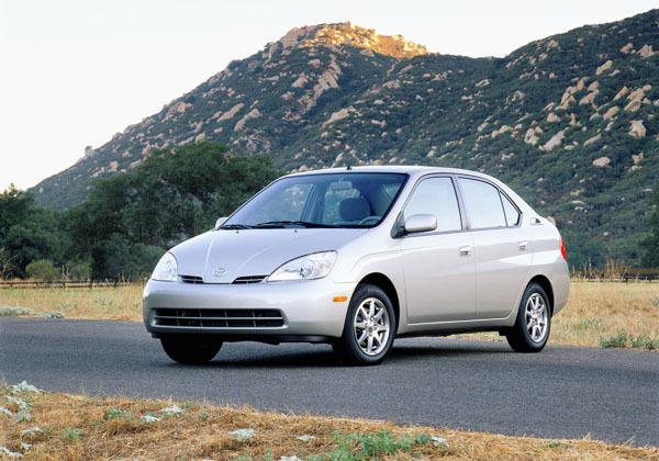 1997年推出的第一代普锐斯