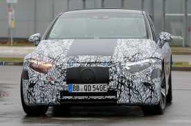 奔驰EQS将于4月亮相,预计推出12款车型,操控达到S级轿跑