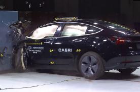中保研国产Model 3碰撞测试视频:与IIHS差别不大