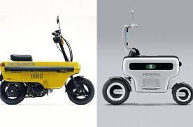 本田开发电动版本的迷你小摩托,神似经典的小板凳