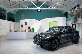 阿斯顿·马丁首款SUV DBX逐美之行艺术展中国开幕