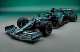 阿斯顿·马丁新F1赛车发布
