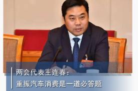 两会代表王连春:重振汽车消费是一道必答题丨汽车预言家