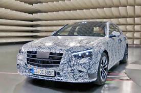 全新奔驰S级将搭最新HUD抬头显示 或配奔驰史上最大中控屏幕
