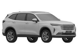或为下一代H6 哈弗全新SUV车型专利图曝光