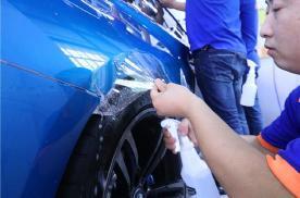 湿贴的隐形车衣,为什么装贴完不建议洗车?