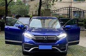 开了5年的奥迪A4L,最近换车本田CR-V新能源,发现本田很适合家用