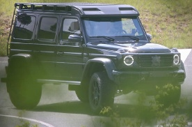 全新奔驰G级4X4²车型谍照曝光 或搭载4.0T 动力