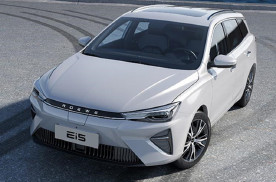 新款荣威Ei5官图发布,造型很优雅,采用很有未来感的设计