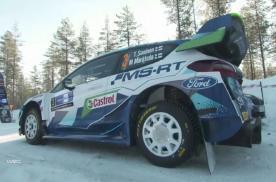 2021 WRC芬兰站 M-Sport车队 表现集锦