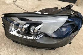 迈乐凯20款奔驰GLS450改装原厂几何大灯