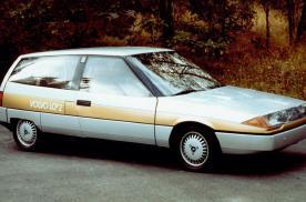 37年前人们认为未来汽车的样子,沃尔沃LCP 2000