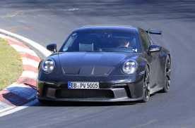 2020款保时捷911 GT3谍照曝光,尾部最为惊艳