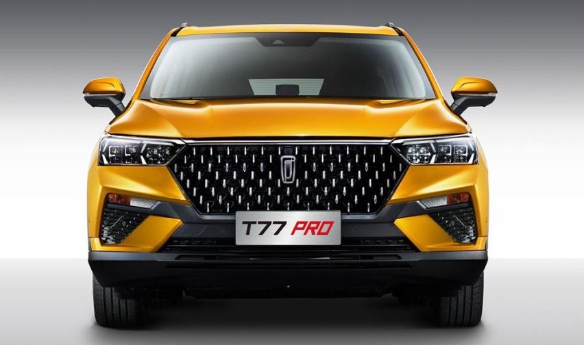 一汽奔腾T77 PRO发动机压缩比就高达11.5