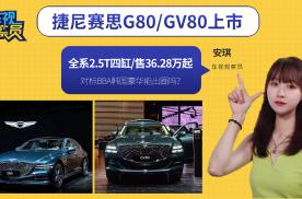 捷尼赛思G80/GV80上市,售36.28万起,韩国豪华能出圈吗?