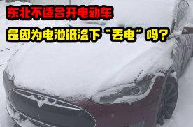 """东北不适合开电动车,是因为电池低温下""""丢电""""吗?"""