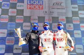 东风悦达起亚车队CTCC上海赛区连夺两冠