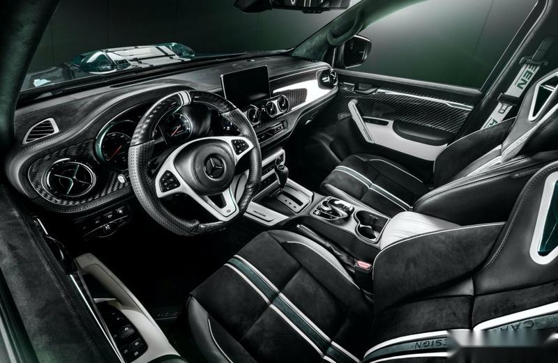知名改装厂打造 梅赛德斯-奔驰X-Class特别版发布