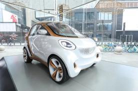潮趣先锋smart现身成都,据说首款纯电动SUV明年亮相