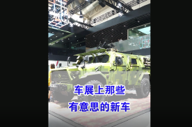 【七哥撩车】除了车模,北京车展这些车看了绝对值回票价