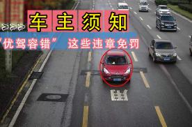 """3月1日起实施!杭州实行""""优驾容错"""",这些驾驶行为可以免罚!"""