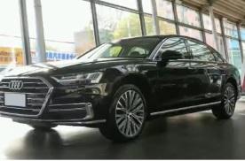 2021款奥迪A8L新增一款车型 搭4.0T V8发动机