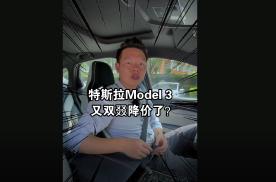 【七哥撩车】Model 3又降15000,为啥七哥觉得特斯拉做对了?