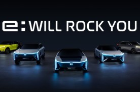 "Honda中国全新纯电动车品牌""e:N""发布,五款全新车型亮相"