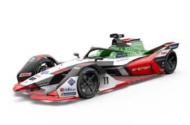 奥迪Formula E纯电动赛车曝光 下赛季的看点更加丰富