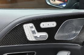 21款奔驰AMG GLE53改装通风座椅效果