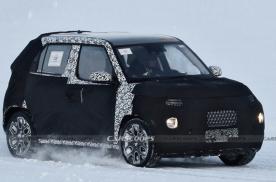 现代全新小型SUV谍照曝光 跨界身份命名为Casper?