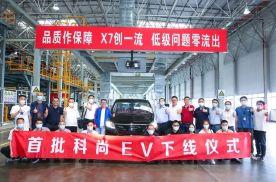 首单便是3000台 长安欧尚科尚EV正式下线交付