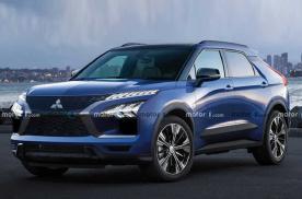 或于2021年秋季亮相 三菱全新电动SUV渲染图曝光