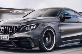更轻更快,或成V8绝唱,AMG C63 Coupe黑色系列