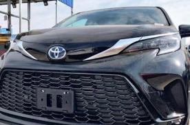 2021款丰田塞纳实拍 内饰升级 可操纵性大幅提升